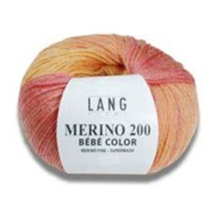 Lang Yarns Merino 200 BéBé color